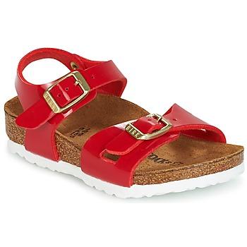 Παπούτσια Παιδί Σανδάλια / Πέδιλα Birkenstock RIO Red