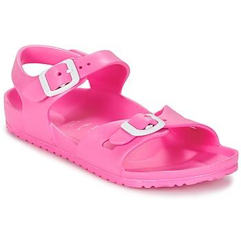 Παπούτσια Παιδί Σανδάλια / Πέδιλα Birkenstock RIO EVA ροζ / Fluo