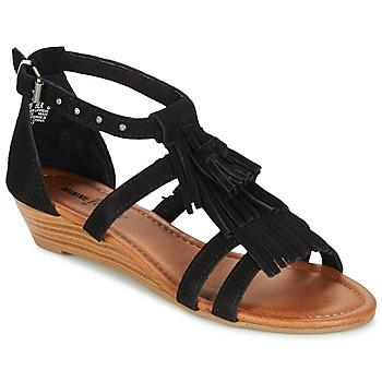 Παπούτσια Γυναίκα Σανδάλια / Πέδιλα Minnetonka MARINA Black