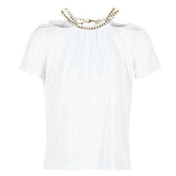 Υφασμάτινα Γυναίκα Μπλούζες Versace Jeans B2HPB721 Άσπρο