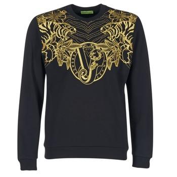 Υφασμάτινα Άνδρας Φούτερ Versace Jeans B7GPB7F0 Black