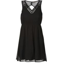 Υφασμάτινα Γυναίκα Κοντά Φορέματα Vero Moda BIANCA Black