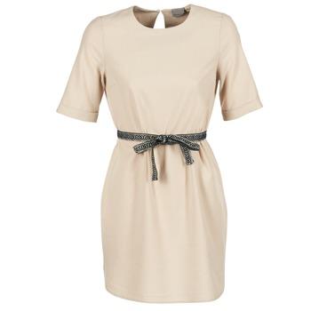 Υφασμάτινα Γυναίκα Κοντά Φορέματα Vero Moda MILO SUKI Beige