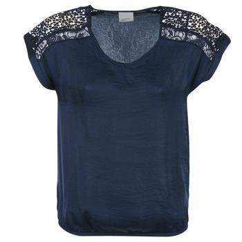 Υφασμάτινα Γυναίκα Μπλούζες Vero Moda SATINI MARINE