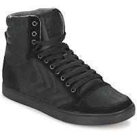 Παπούτσια Ψηλά Sneakers Hummel TEN STAR MONO OILED IG ΜΑΥΡΟ / ΜΑΥΡΟ