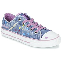 Παπούτσια Κορίτσι Χαμηλά Sneakers Tom Tailor JIJAA Μπλέ / Violet