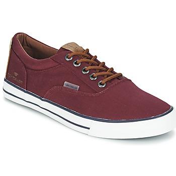 Παπούτσια Άνδρας Χαμηλά Sneakers Tom Tailor EXIBOU Bordeaux