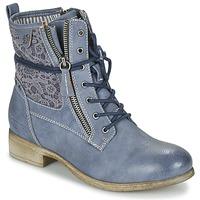 Παπούτσια Γυναίκα Μπότες Tom Tailor RELOUNI Μπλέ