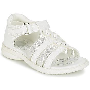 Παπούτσια Κορίτσι Σανδάλια / Πέδιλα Chicco CAROTA άσπρο / Silver