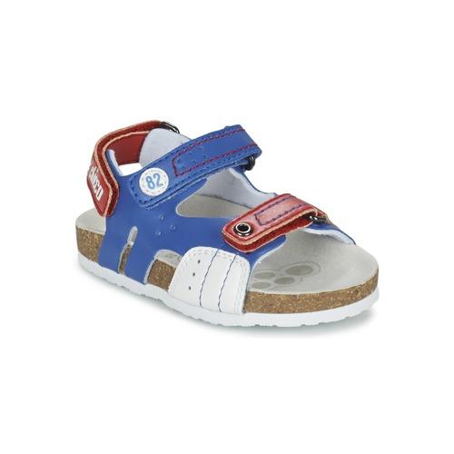 Παπούτσια Αγόρι Σανδάλια / Πέδιλα Chicco HELIO μπλέ / άσπρο / Red
