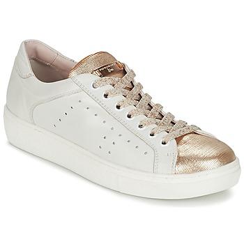 Παπούτσια Γυναίκα Χαμηλά Sneakers Tosca Blu  άσπρο / Gold
