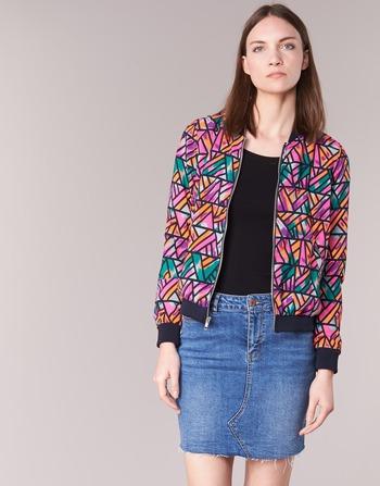 Υφασμάτινα Γυναίκα Σακάκι / Blazers Noisy May JUNGLE Multicolore