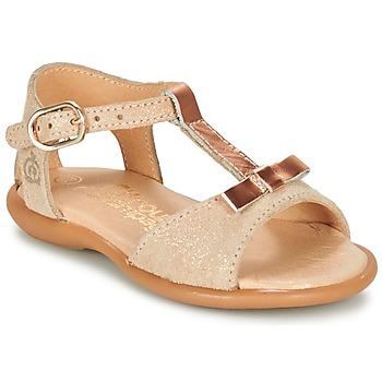 Παπούτσια Κορίτσι Σανδάλια / Πέδιλα Citrouille et Compagnie GUGULE Gold