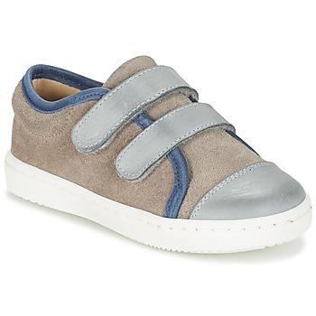 Παπούτσια Αγόρι Χαμηλά Sneakers Citrouille et Compagnie GOUTOU Grey / TAUPE / μπλέ