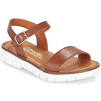 Παπούτσια Κορίτσι Σανδάλια / Πέδιλα Citrouille et Compagnie GLAPOTI CAMEL