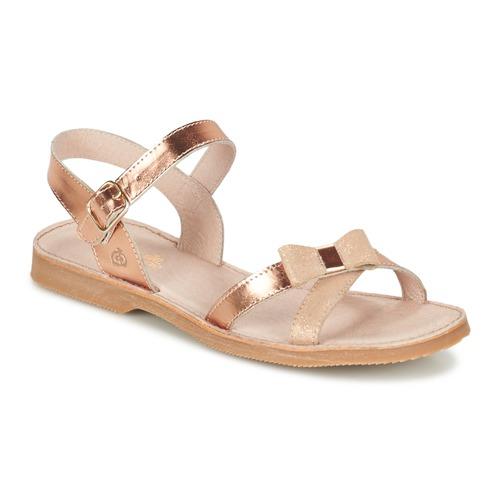 Παπούτσια Κορίτσι Σανδάλια / Πέδιλα Citrouille et Compagnie JISCOTTE Bronze