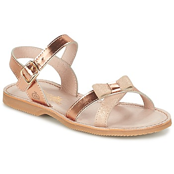 Παπούτσια Κορίτσι Σανδάλια / Πέδιλα Citrouille et Compagnie GOGOGATO BRONZE