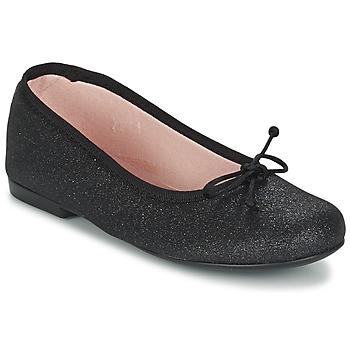 Παπούτσια Κορίτσι Μπαλαρίνες Citrouille et Compagnie GLIGLO Black / Pailleté
