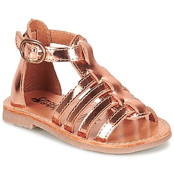 Παπούτσια Κορίτσι Σανδάλια / Πέδιλα Citrouille et Compagnie JASMA Cuivré