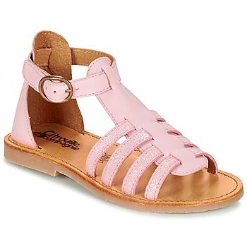 Παπούτσια Κορίτσι Σανδάλια / Πέδιλα Citrouille et Compagnie JASMA Ροζ