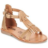 Παπούτσια Κορίτσι Σανδάλια / Πέδιλα Citrouille et Compagnie GAMELA Camel