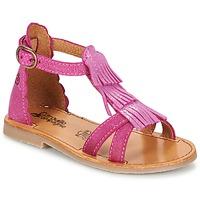 Παπούτσια Κορίτσι Σανδάλια / Πέδιλα Citrouille et Compagnie GAMELA Ροζ