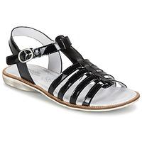 Παπούτσια Κορίτσι Σανδάλια / Πέδιλα Citrouille et Compagnie GROUFLA Black