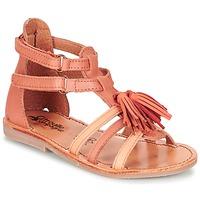 Παπούτσια Κορίτσι Σανδάλια / Πέδιλα Citrouille et Compagnie GOFARO Orange