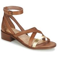 Παπούτσια Γυναίκα Σανδάλια / Πέδιλα Casual Attitude GILDAS Camel / Dore