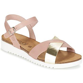 Παπούτσια Γυναίκα Σανδάλια / Πέδιλα Casual Attitude GIFA Ροζ / Dore