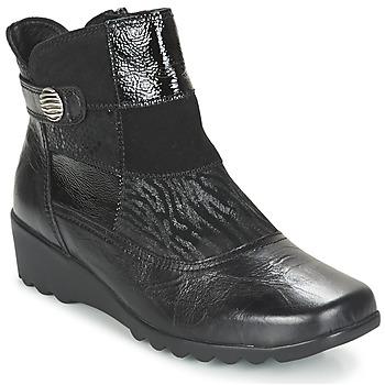 Παπούτσια Γυναίκα Μποτίνια Romika Carree 16 Schwarz
