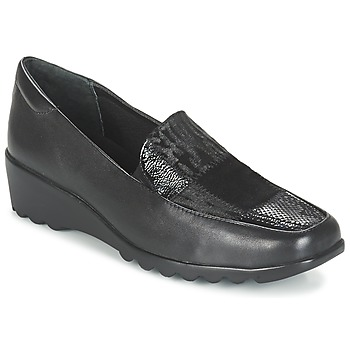 Παπούτσια Γυναίκα Μοκασσίνια Romika Carree 17 Schwarz