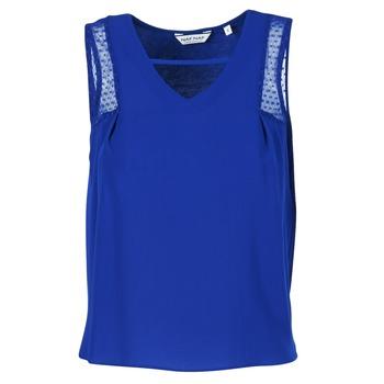 Υφασμάτινα Γυναίκα Αμάνικα / T-shirts χωρίς μανίκια Naf Naf OPIPA μπλέ