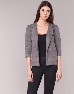 Υφασμάτινα Γυναίκα Σακάκι / Blazers Only CAROLINE Grey