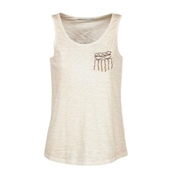Υφασμάτινα Γυναίκα Αμάνικα / T-shirts χωρίς μανίκια Only VIOLA Beige