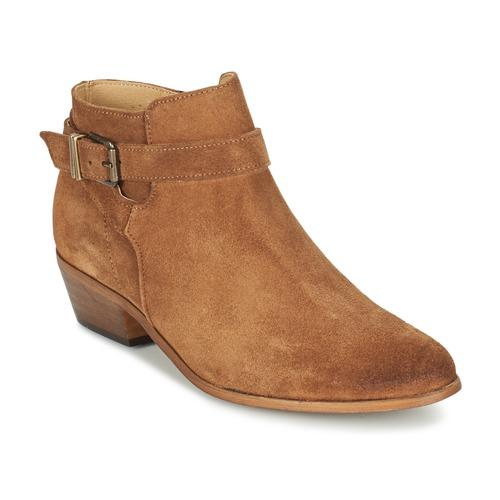Παπούτσια Γυναίκα Χαμηλές Μπότες Betty London GAFFA CAMEL