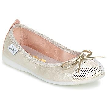 Παπούτσια Κορίτσι Μπαλαρίνες Citrouille et Compagnie GRAGON Beige / Pailleté