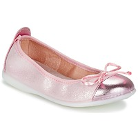 Παπούτσια Κορίτσι Μπαλαρίνες Citrouille et Compagnie GRAGON ροζ / Pailleté