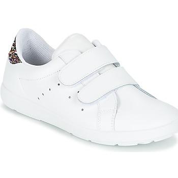 Παπούτσια Κορίτσι Χαμηλά Sneakers Citrouille et Compagnie GRANOU Άσπρο / Paillettes