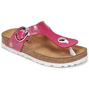 Παπούτσια Κορίτσι Σαγιονάρες Citrouille et Compagnie GOMINET ροζ