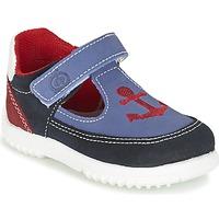 Παπούτσια Αγόρι Σανδάλια / Πέδιλα Citrouille et Compagnie GANDAL μπλέ / Red