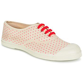 Παπούτσια Γυναίκα Χαμηλά Sneakers Bensimon TENNIS MINIPOIS Ecru / Ροζ