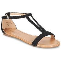 Παπούτσια Γυναίκα Σανδάλια / Πέδιλα Moony Mood GEMINIELLE Black