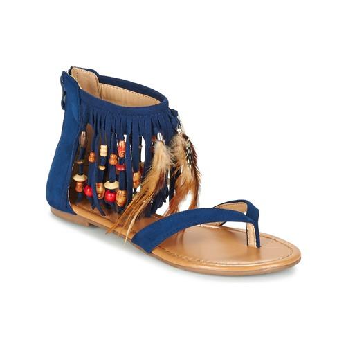 Παπούτσια Γυναίκα Σανδάλια / Πέδιλα Moony Mood GETOULA μπλέ