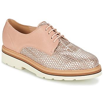 Παπούτσια Γυναίκα Derby Fericelli GRATY Ροζ / Nude