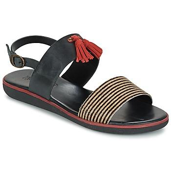 Παπούτσια Γυναίκα Σανδάλια / Πέδιλα Kickers HYRO Black / Red