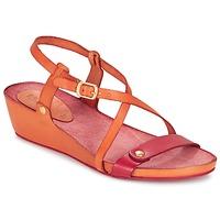 Παπούτσια Γυναίκα Σανδάλια / Πέδιλα Kickers TASTE Orange / Red