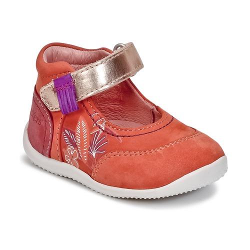 Παπούτσια Κορίτσι Μπαλαρίνες Kickers BIMAMBO Orange / FUCHSIA / ροζ