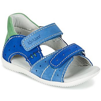 Παπούτσια Αγόρι Σανδάλια / Πέδιλα Kickers BOPING μπλέ / Green