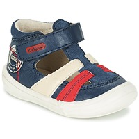 Παπούτσια Αγόρι Σανδάλια / Πέδιλα Kickers ZOHAN Marine / Red